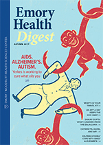 Fall 2017 Emory Health Digest Cover Image