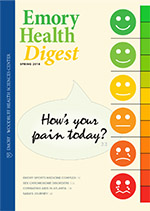 Spring 2018 Emory Health Digest Cover Image