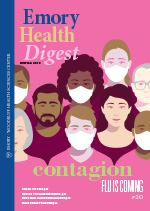 Winter 2019 Emory Health Digest Cover Image